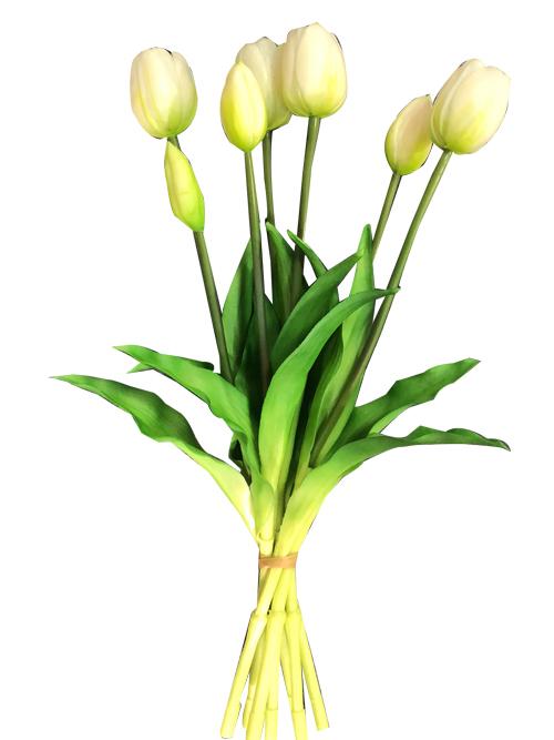 silk tulip arrangement flowers 44cm tall - Artificial flower ... abd295eec7
